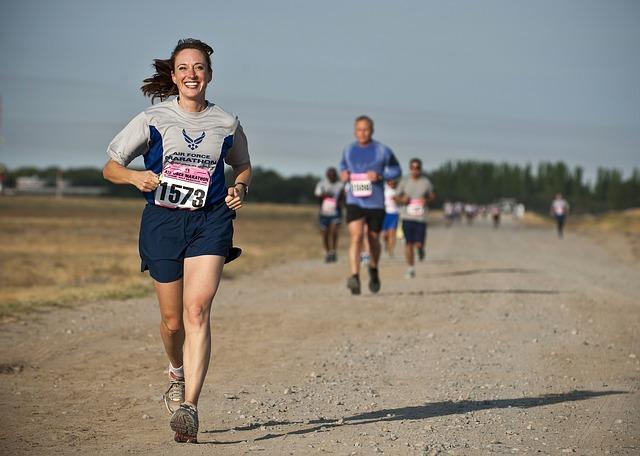 soutěž v běhu