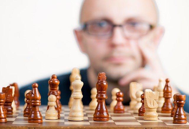 šachový hráč