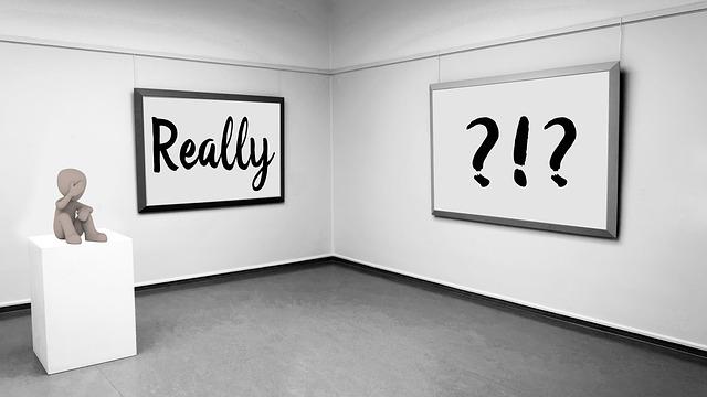 otázky na zdi