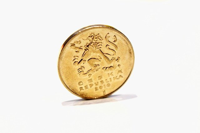 zadní strana mince