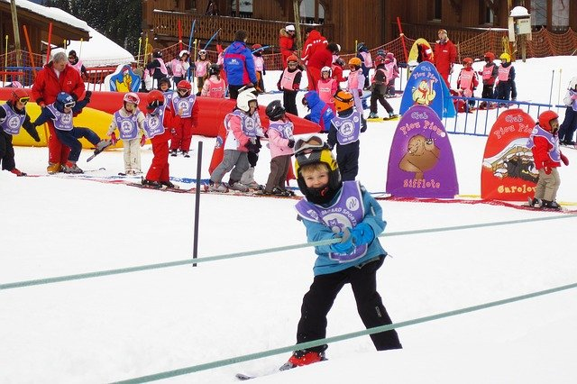 lyžařská školka