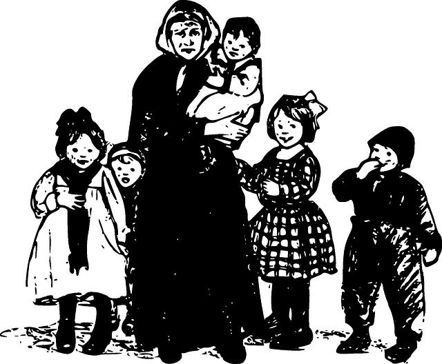 babička a děti