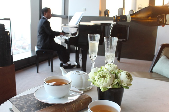 čaj s hudbou